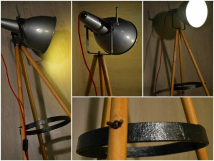 Projecteur scandinave industriel / Scandinavian industrial projector