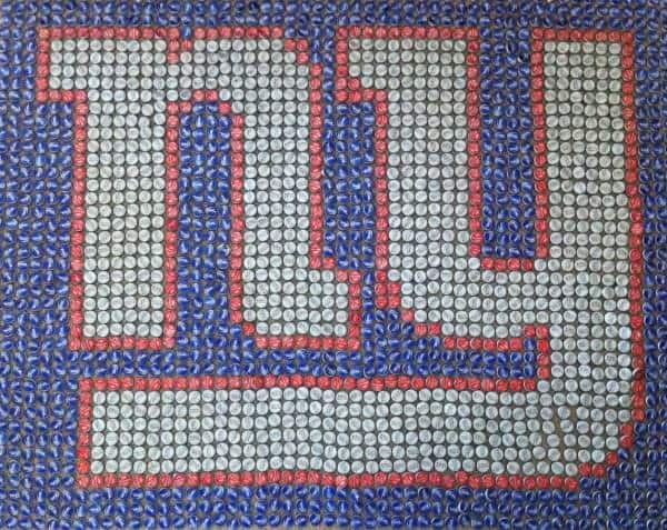 Bottle Cap Mosaics Do-It-Yourself Ideas Recycled Art