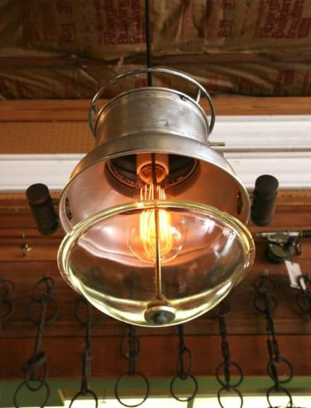 The Popcorn Popper Pendant Light