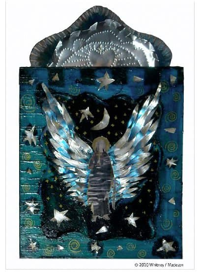 Intuitive Art of Joanna Whitney Recycled Art