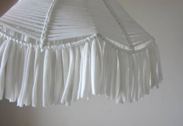 Upcycled Fabric Lampshade Lamps & Lights