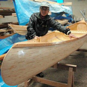 Upcycled Chopsticks Canoe