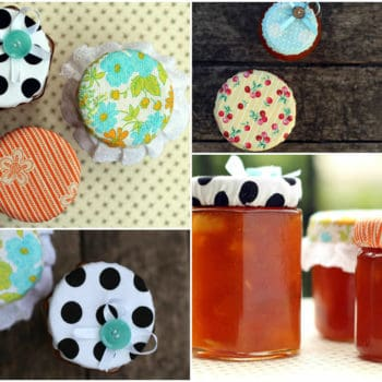 How to upcycle old jars into pretty jam-filled gifts