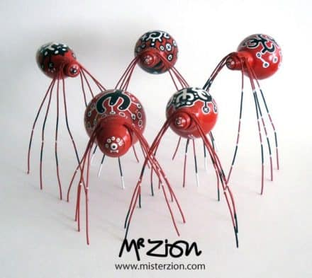 "The ""Spiderz"" by Mister Zion"