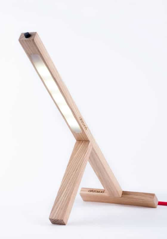 T1 Handmade Led Lamp from Recycled Materials Lamps & Lights Recycled Cardboard