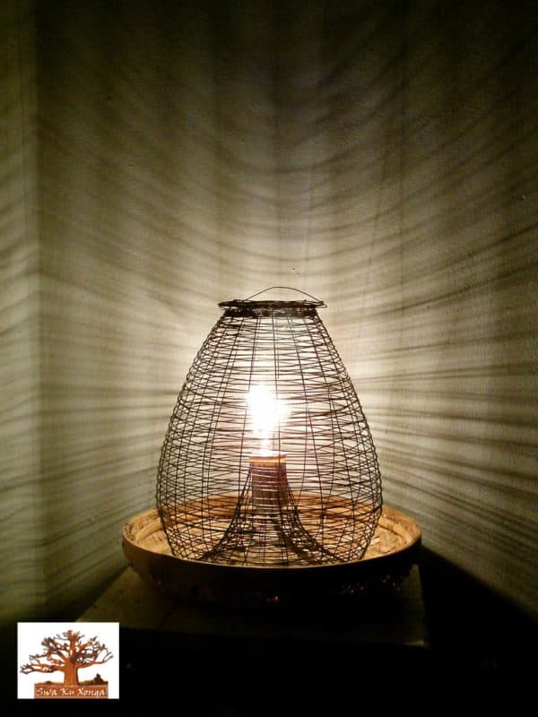 Creative Lamps Upcycled Jewelry Ideas Wood & Organic