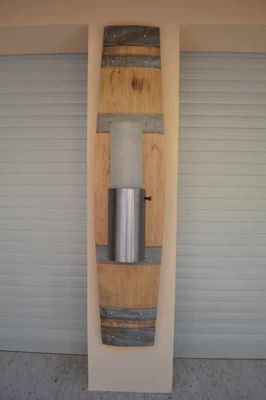 The Healdsburg Light (Recycled Wine Barrel) Lamps & Lights Wood & Organic