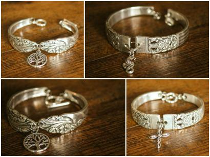Vintage Spoon Bracelets