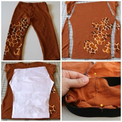 Tutorial on how to make baby/toddler leggings from a recycled T-shirt!
