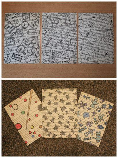 DIY: Upcycled Postcards