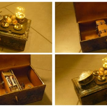 Steampunk Alchemy boxes
