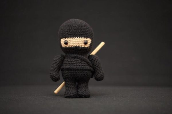 Crocheted Ninja Clothing