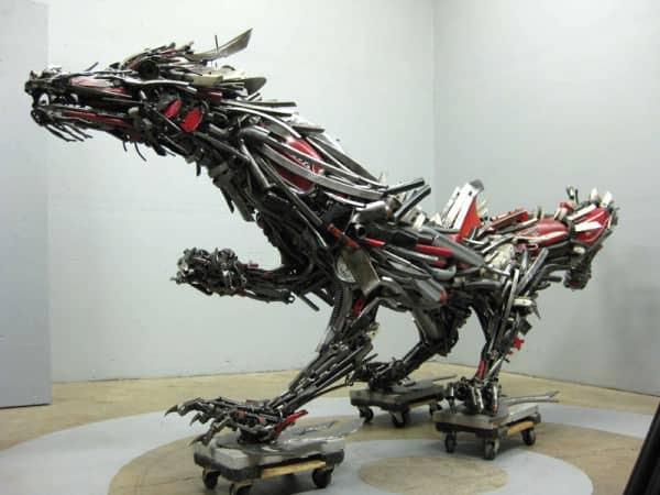 Conheça a Arte Com Sucata De Travis Pond / Scrap Art by Travis Pond Recycled Art