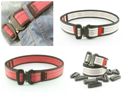 HERO Cobra belt from recycled Fire Hose