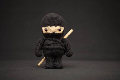 Crocheted Ninja