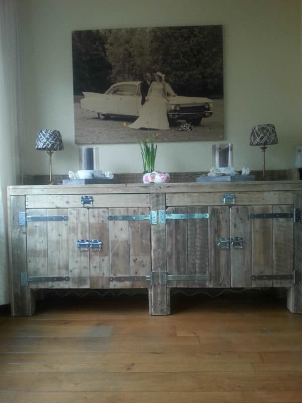 Pallets Sideboard Recycled Pallets