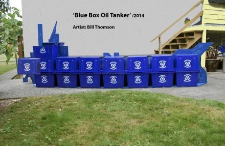 Blue Box Oil Tanker
