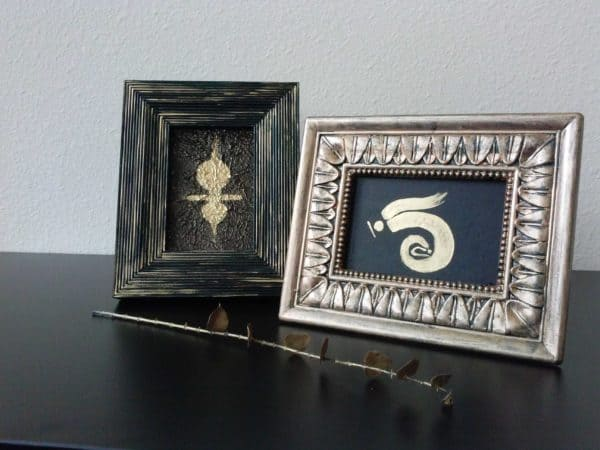 Repurposing Old Photo Frames Accessories
