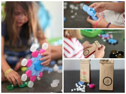 Clip it: Educational, creative and sustainable game, 90% upcycled!