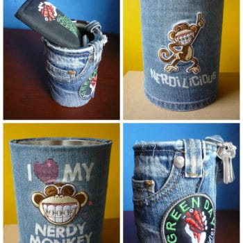 Recycled Jeans & Cans ... Multipurpose