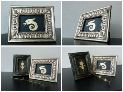 Repurposing old photo frames