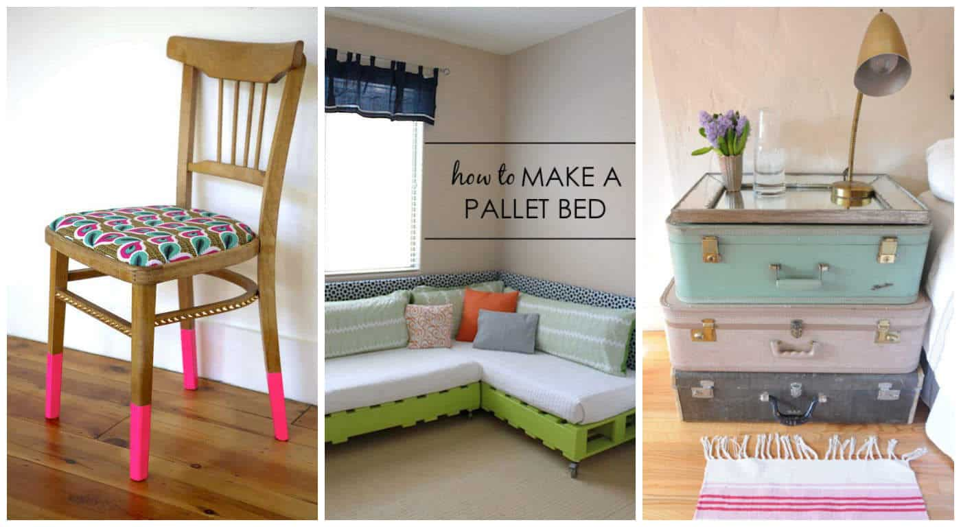 Upcycling furniture in your child 39 s room recycled ideas for Furniture upcycling
