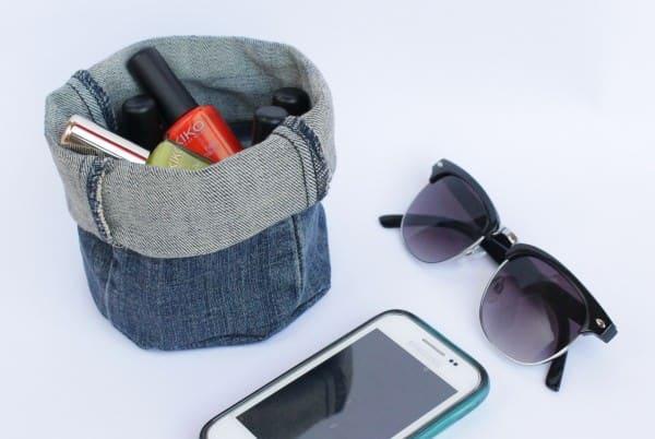 Diy: Upcycled Denim Bucket Clothing Do-It-Yourself Ideas