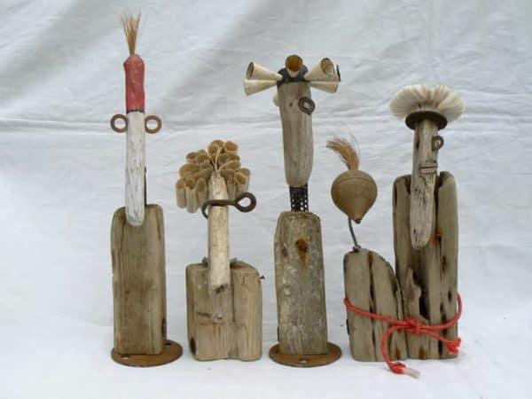 Drifwood & Harbour Wreckage Recycled Art Wood & Organic
