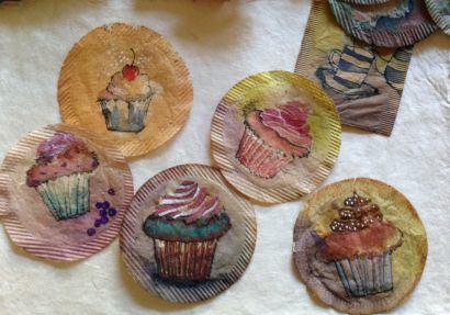 Painted Tea Bags