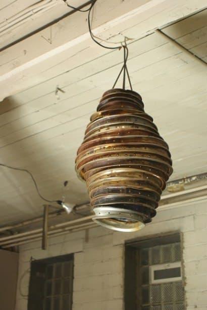 Rim lampshade