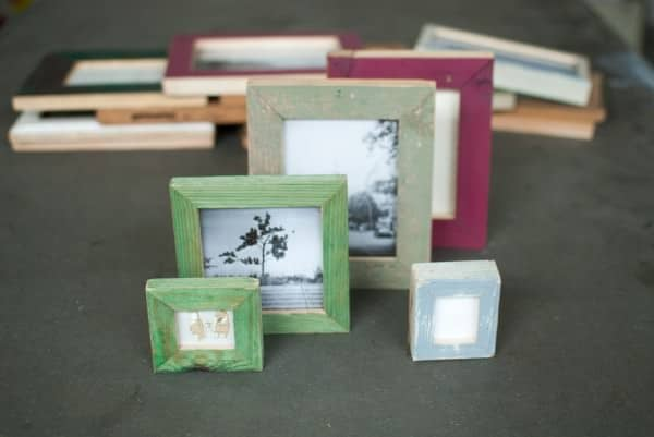 Picture Frames Made From Recycled Materials Accessories Wood & Organic