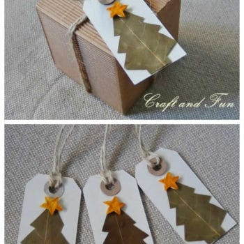DIY: Make Nice Christmas Gift Tags