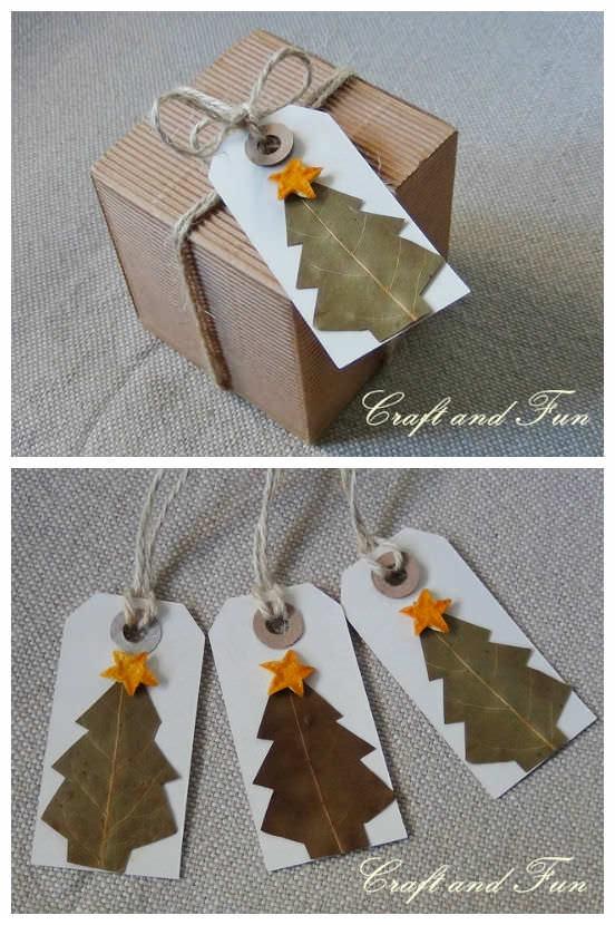 DIY: Make Nice Christmas Gift Tags