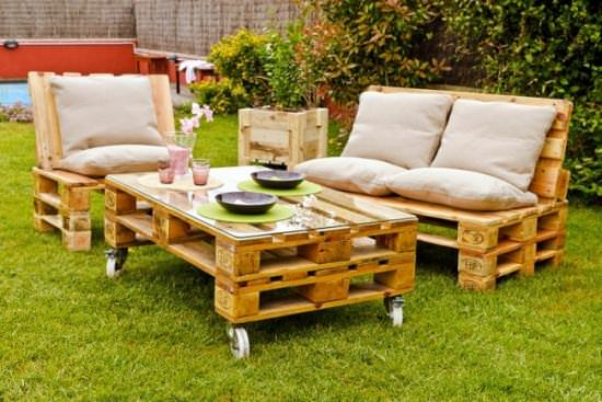More With Less - Recycled Pallet Garden Ideas Recycled Pallets