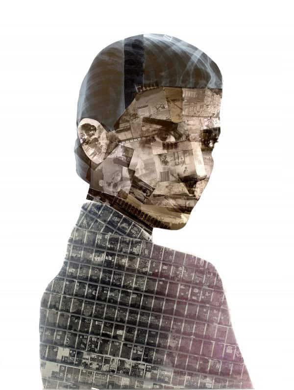 Portraits Painted On Film Negatives By Nick Gentry Recycled Art