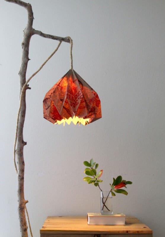 Grocery Bag Hack: Pendant Lamp Lamps & Lights