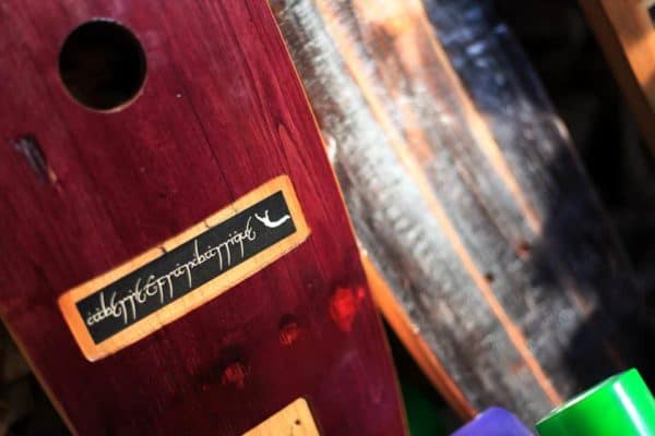 Handmade Skateboards From Wine Barrels: The Barrel Board Experience Project Recycled Sports Equipment