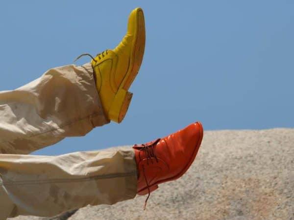 Zapatos De Colores Por El Mundo Recycled Art
