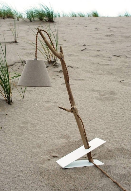 Driftwood Lamp Wood & Organic