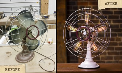 Vintage Westinghouse Fan Lamp