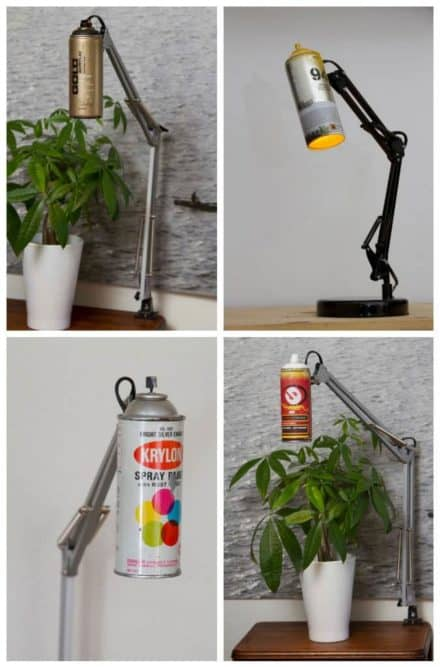 Spray Can Lamp