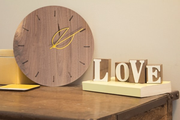 Fall Clocks Accessories Wood & Organic