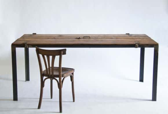 Reclaimed Wood Furniture by Manoteca Do-It-Yourself Ideas