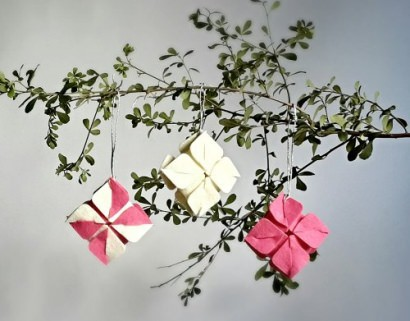 Three Types of  Fabric Ornaments