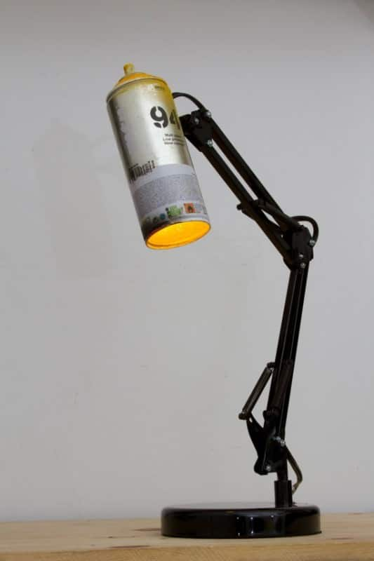 Spray Can Lamp Lamps & Lights