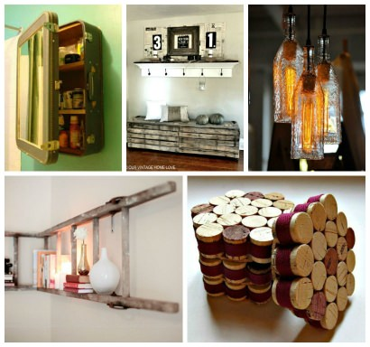 Upcycled interior inspiration