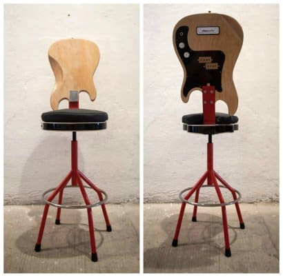 Guitar and Bass Chair