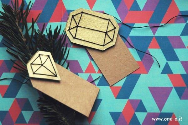 DIY gem gift tag Do-It-Yourself Ideas