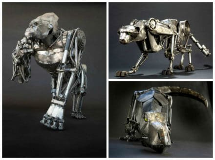 Animais Mecânicos por Andrew Chase