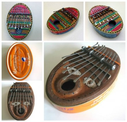 Recycled Sardine Can Into Kalimba
